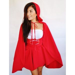 Little Red Riding Hood cape 🎃